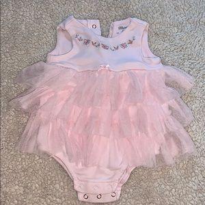 Pink Ruffle Baby Dress